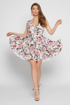 Платье KP-10335-3 Молочное