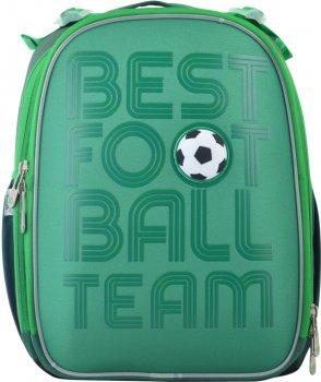 Рюкзак шкільний каркасний YES H-25 чоловічий 0.85 кг 35х26х16 см 15 л Football (555373)