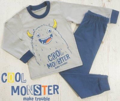 Пижама Кена Cool Monster Серая (207547-09-1) (4salekids)