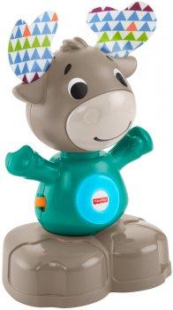Интерактивная игрушка Fisher-Price Linkimals Веселый лось (русс) (GJB21) (0887961807301)