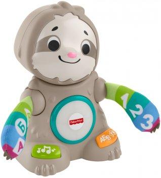 Интерактивная игрушка Fisher-Price Linkimals Танцующий ленивец (русс) (GHY96) (0887961807066)