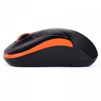 Мишка A4tech G3-300N Black+Orange