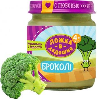Упаковка пюре Ложка в ладошке з броколі 100 г х 6 шт. (4815396001540)