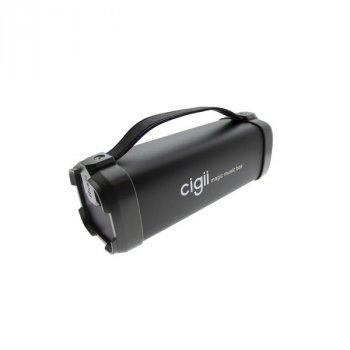 Портативна колонка Cigii New Designe F52 Stereo, Black (F52)