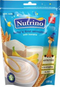 Молочна каша Nutrino Манна з бананом з 6 місяців 200 г (8606019652708)