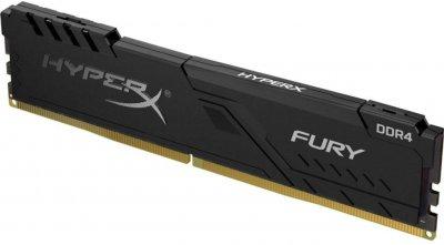 Оперативная память HyperX DDR4-2666 16384MB PC4-21300 Fury Black (HX426C16FB4/16)