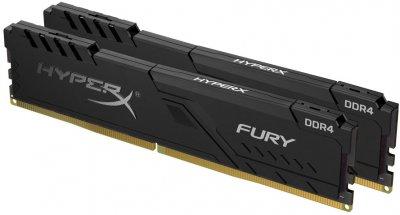 Оперативная память HyperX DDR4-3200 32768MB PC4-25600 (Kit of 2x16384) Fury Black (HX432C16FB4K2/32)
