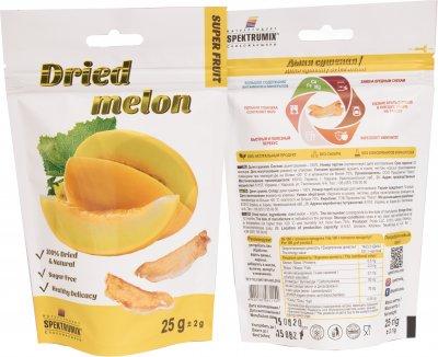 Упаковка дині сушеної Spektrumix 4 шт. х 25 г (2889870014960)