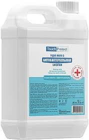 Жидкое мыло Touch Protect Эвкалипт-Розмарин с антибактериальным эффектом 5 л (4823109401617)