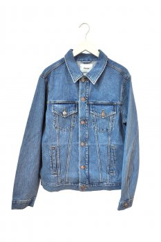 Джинсова куртка nyden by h&m Блакитна (3815-m-ndm0004-b)