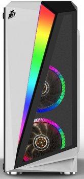 Корпус 1STPLAYER R5-R1 Color LED White