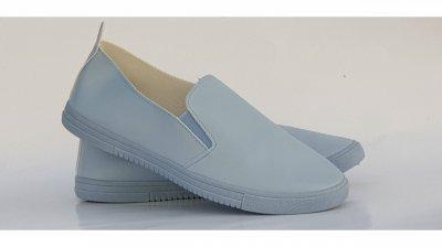 Жіночі сліпони, колір Блакитний, код 10406