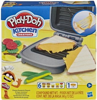 Игровой набор Play-Doh Сырный сэндвич (E7623)