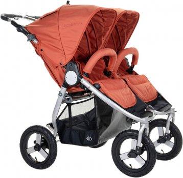 Прогулянкова коляска для двійнят Bumbleride Indie Twin Clay (IT-980CY)
