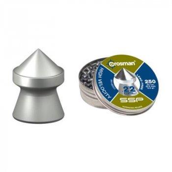 Кульки Crosman Lead free Super Point 250шт. (LF22SP)