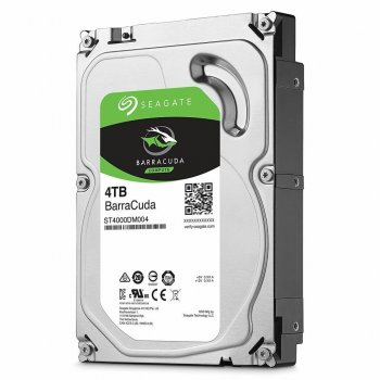 Жорсткий диск HDD Seagate BarraCuda 4TB 5400rpm 256MB ST4000DM004 3.5 SATA III
