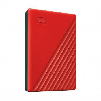 """Жорсткий диск WD 2.5"""" USB 3.2 Gen 1 4TB My Passport Red"""