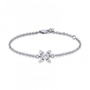 Срібний браслет ніжність 16 cava.cool