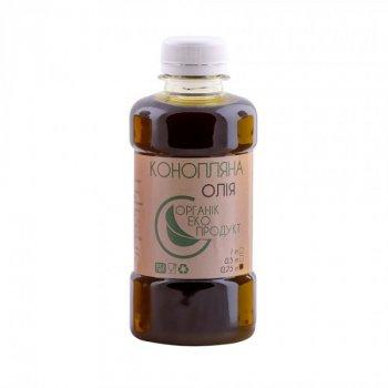 Масло конопляное холодного отжима Organic Eco-Product, 250 мл