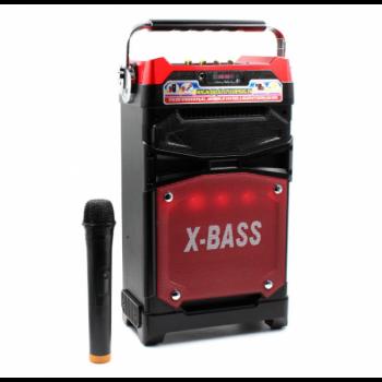 Колонка караоке Комбік Bluetooth MP3 FM Радіомікрофон Пульт ДУ Акустична система NNS 1389BT