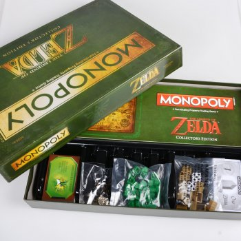 Настільна гра Монополія Легенда про Зельде Колекційне видання ( Monopoly The Legend of Zelda Collection's Edition )