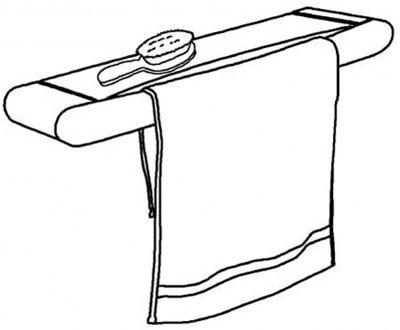 Сушилка для белья настенная Gimi Telepack 70 5 м (928454) (8001244863408)