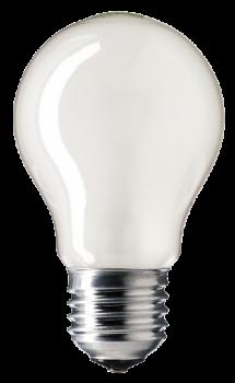Лампа розжарювання 100А1/F/E27 240V матова GE Угорщина