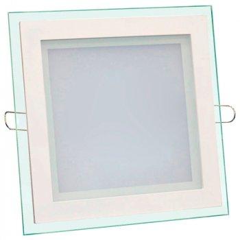 Світильник LED вбуд. BIOM GL-S 6W скло квадратний