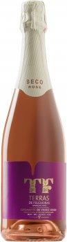 Вино игристое Vercoope Terras De Felgueiras Espumante de Vinho Verde DOC TF розовое сухое 0.75 л 11% (5601448115049)
