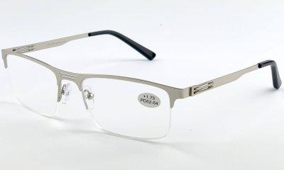 Очки с диоптрией JIENIYA 3390 C2 Silver +4
