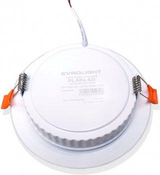 Світильник точковий Evrolight PLAIN-6R 6Вт 6400К (56829) 2шт