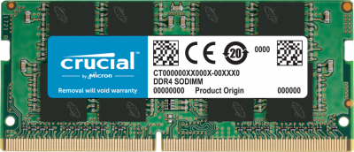 Оперативна пам'ять Crucial SODIMM DDR4-2666 16384 MB PC4-21300 (CT16G4SFRA266)