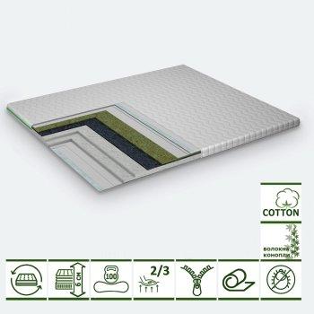 Тонкий матрас-топпер Green Streem Dream 180х200 см (02022020-22-18) (2020221802007)