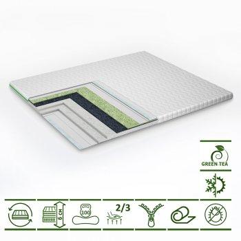 Тонкий матрас-топпер Green Streem Tea 70х190 см (02022020-42) (2020420701903)