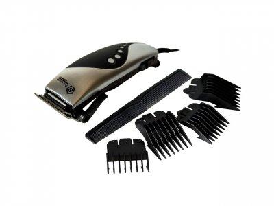 Машинка для стрижки волос Domotec MS 4609 Черно-серый