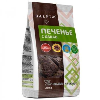 Печенье с Какао 12 пачек по 250 г
