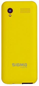 Мобільний телефон Sigma mobile X-Style 31 Power Yellow (4827798854761)