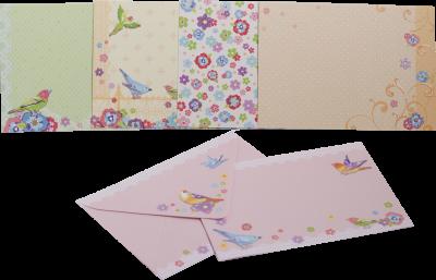 Заготівля для листівок ZiBi з кольоровими конвертами Flight 105 х 148 см (ZB.18220-AD)