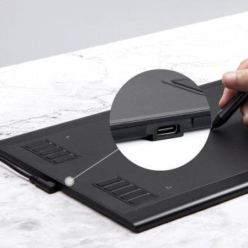 Графічний планшет Parblo A610 Plus V2 Чорний (A610PLUSV2)