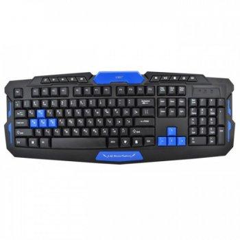 Комплект Бездротова блютуз (Bluetooth) ігрова клавіатура і миша UTM ПК 8100