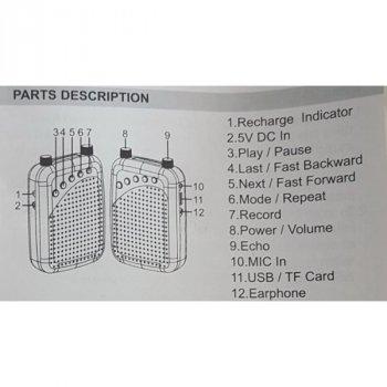 Экскурсоводный гучномовець/мегафон 950 38 ват(02610)