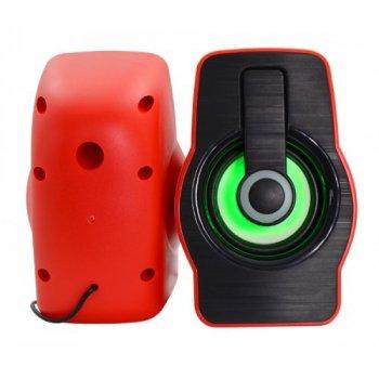Комп'ютерні колонки акустика Prime USB 2.0 FnT FT-185 Червоні 47747