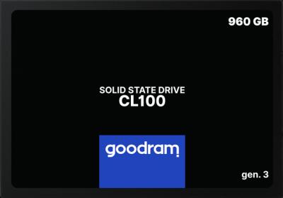 """Твердотільний диск SSD 2.5"""" 960GB Goodram CL100 TLC (SSDPR-CL100-960-G3)"""