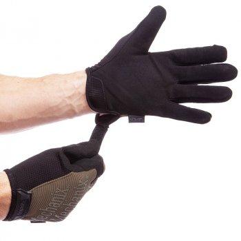 Перчатки тактические с закрытыми пальцами MECHANIX BC-5623(размер L , черный-зеленый ) /2