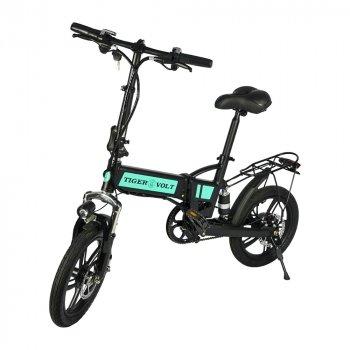 Електровелосипед ZM TigerVolt 16 чорний