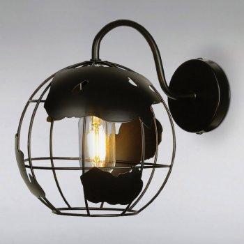 Бра настінне Light House LS-15230-1 BK чорне