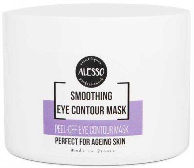 Альгинатная маска для лица Alesso для контура глаз против темных кругов и отеков 200 г (3273629235437)
