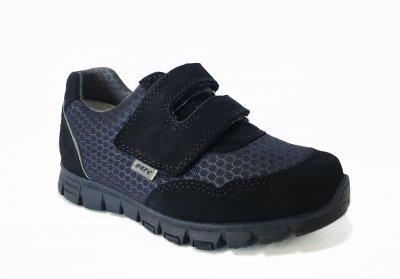 Кроссовки кожаные Bartek 68789/88F Синие