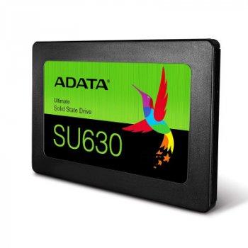 """Накопичувач SSD A-DATA Ultimate SU630 480GB 2.5"""" SATAIII 3D QLC (ASU630SS-480GQ-R)"""