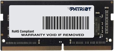 Оперативна пам'ять Patriot DDR4 SL 16GB 2666 MHz CL19 SODIMM (PSD416G26662S)